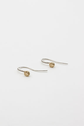 Arwa Cognac Diamond Earrings
