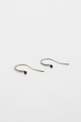 QM Black Diamond Earrings