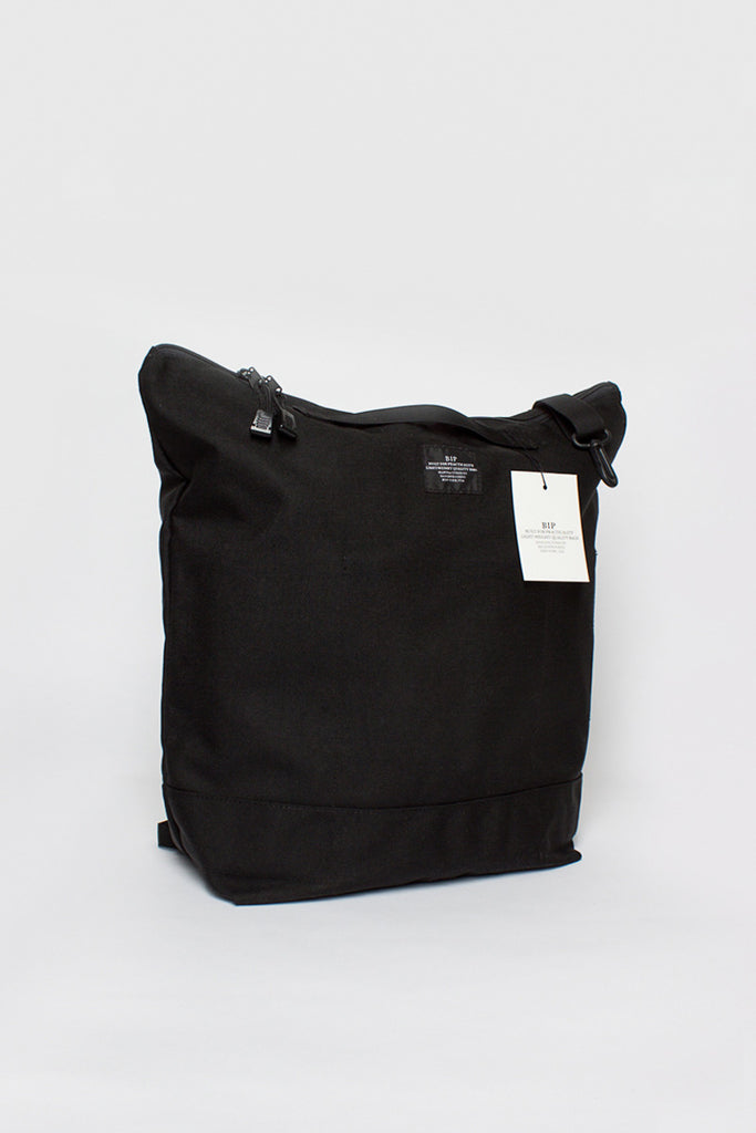 B.I.P Black Zipper Backpack