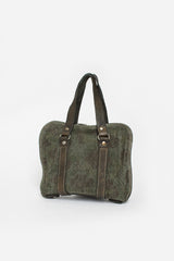 GB00 Linen Camouflage Handle Bag