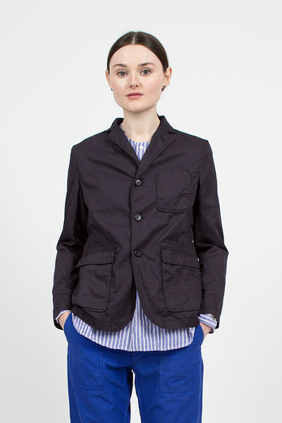Dark Navy High Count Twill Baker Jacket