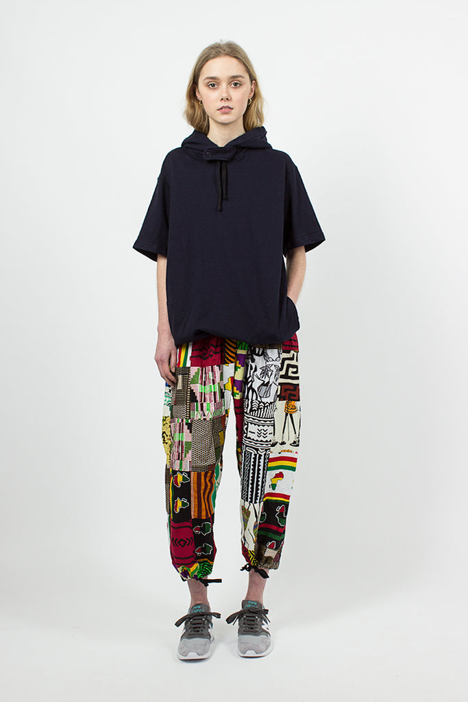 African Print Patchwork Balloon Pant