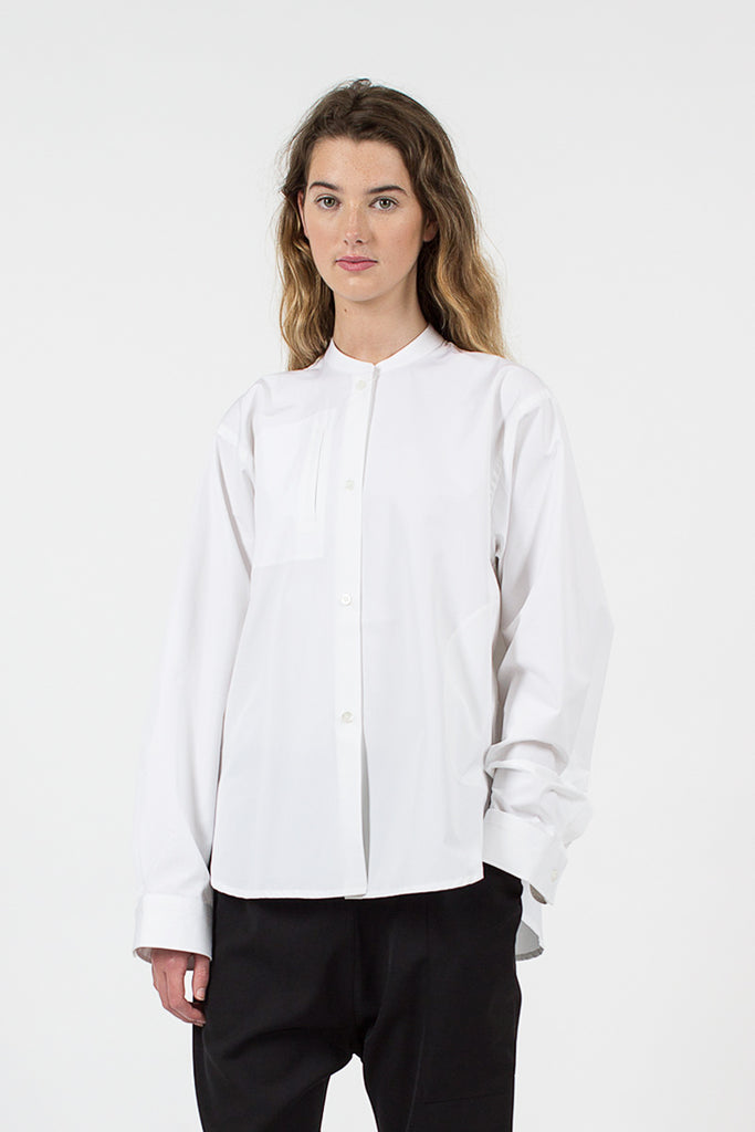 Bantu Shirt Optical White