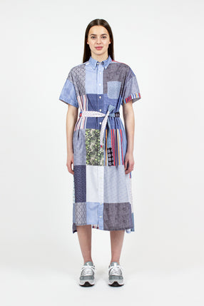 BD Shirt Dress Multi Patchwork
