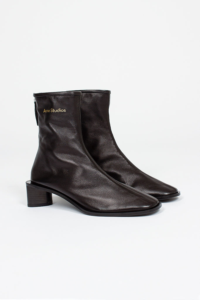 Bertine Leather Sock Boot