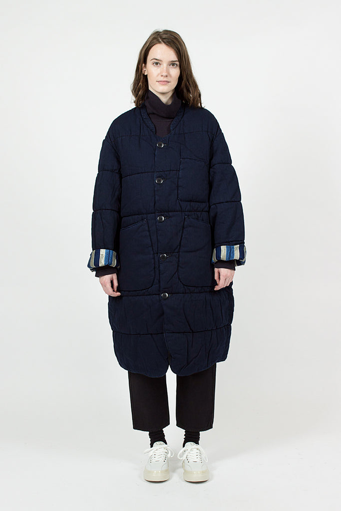 Samu Denim Quilt Coat