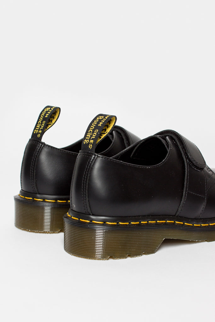 Black Smooth EG X DM Velcro Shoe