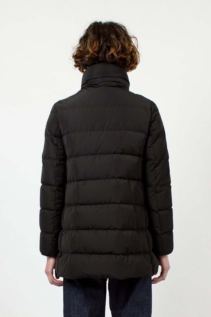 Petrea Black Padded Coat