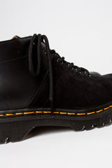 Black Smooth/Black Suede EG x DM Church Boot