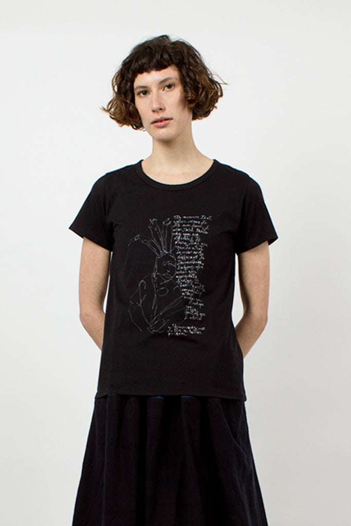 Black Ultimate Message T-Shirt