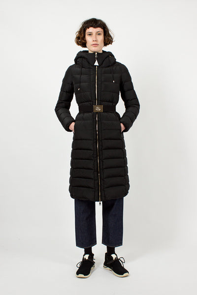 Imin Black Padded Coat
