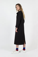 Di Draped Collar Dress