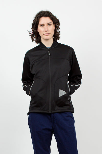 Line Zip Jacket Black