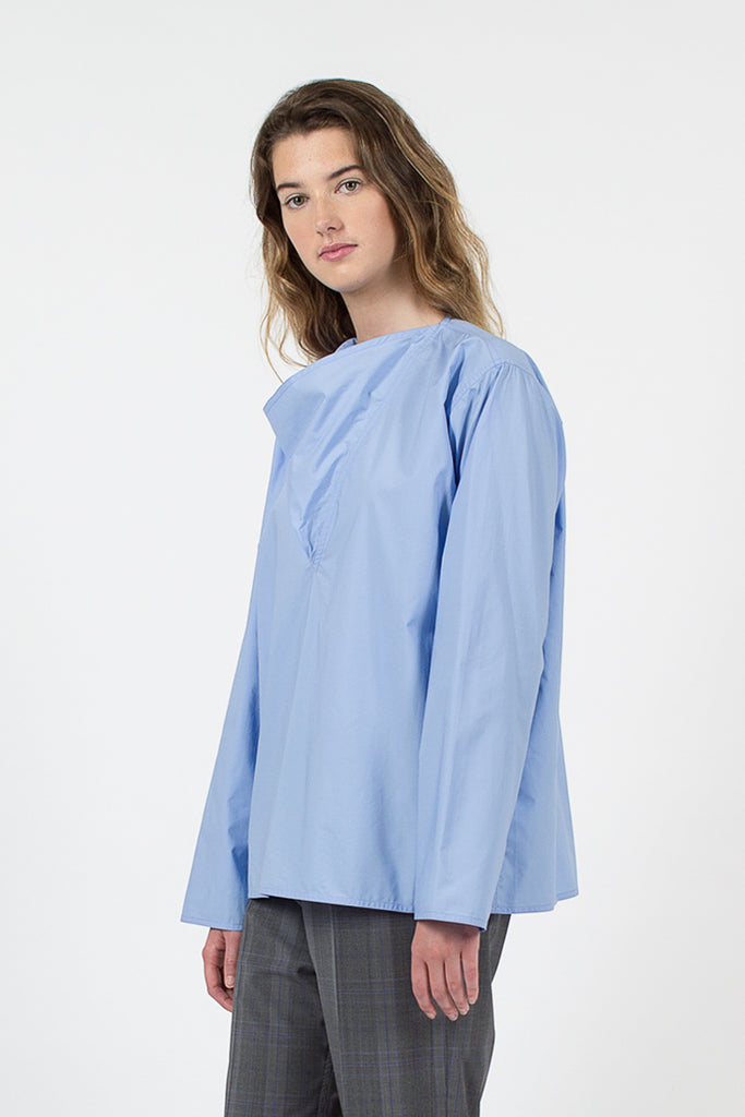 Blix Draped Neck Top