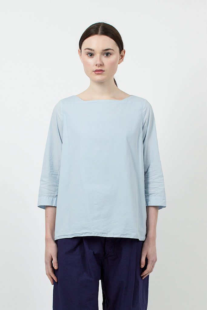 Blue Cotton Top