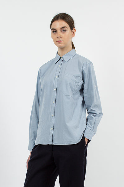 Dusty Blue Pocket Shirt