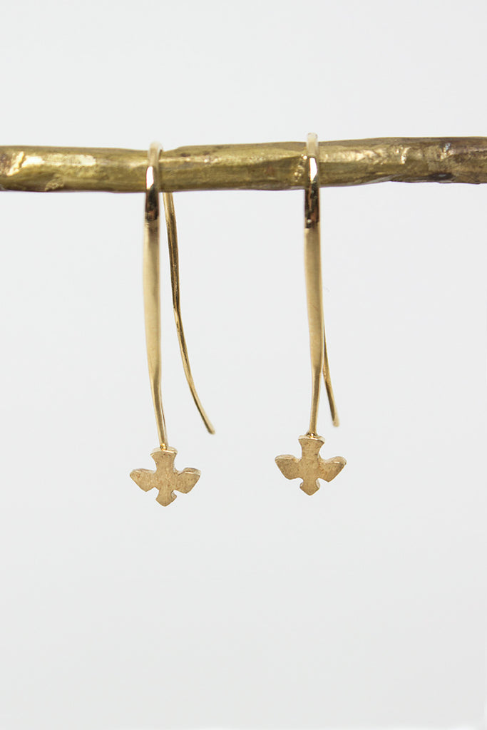 Twitty 18kt Yellow Gold Drop Earrings