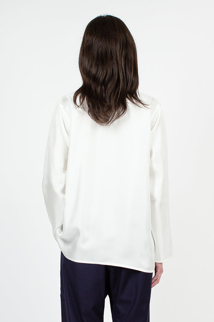 Botero Silk Crew Neck Top