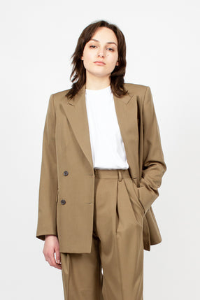 Structured Camel Jacket