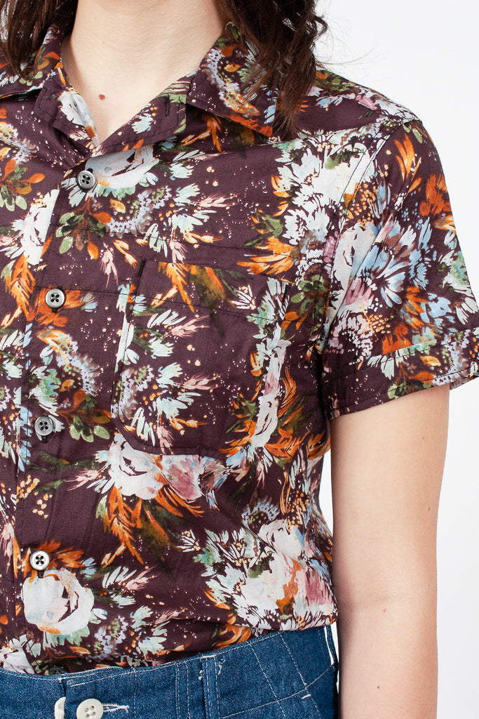 Botany Printed Camp Shirt