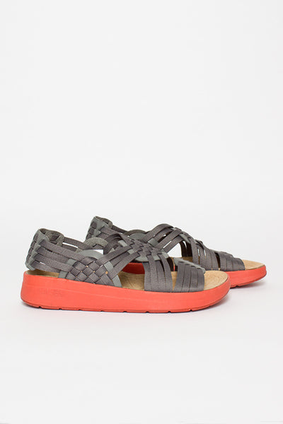 Malibu Charcoal Grey/Red Clay Canyon Sandal