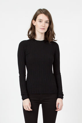 Carina Merino Sweater Black