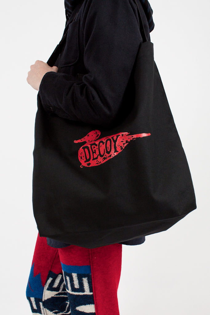 Red 'Decoy' Carry All Tote