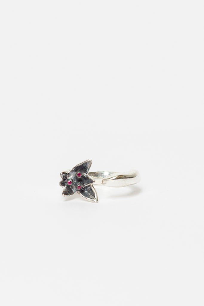 Caryssa Silver Flower Ring
