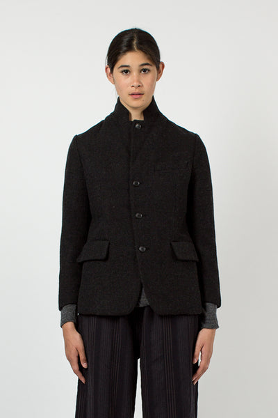 Charcoal Tweed Jacket