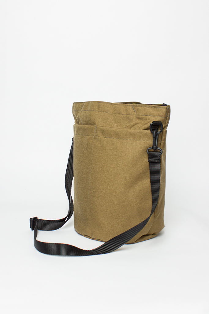 B.I.P Khaki Circle Shoulder Tote Bag