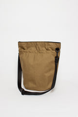 B.I.P. Khaki Circle Shoulder Tote Bag