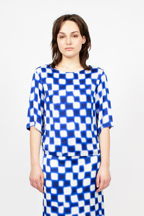 Square Patterned Top