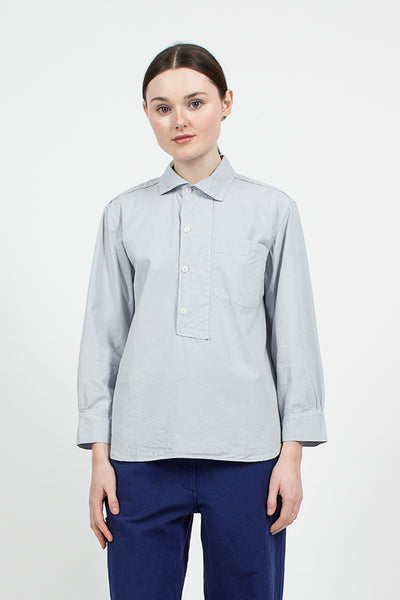 Cloud Asymmetric Collared Shirt