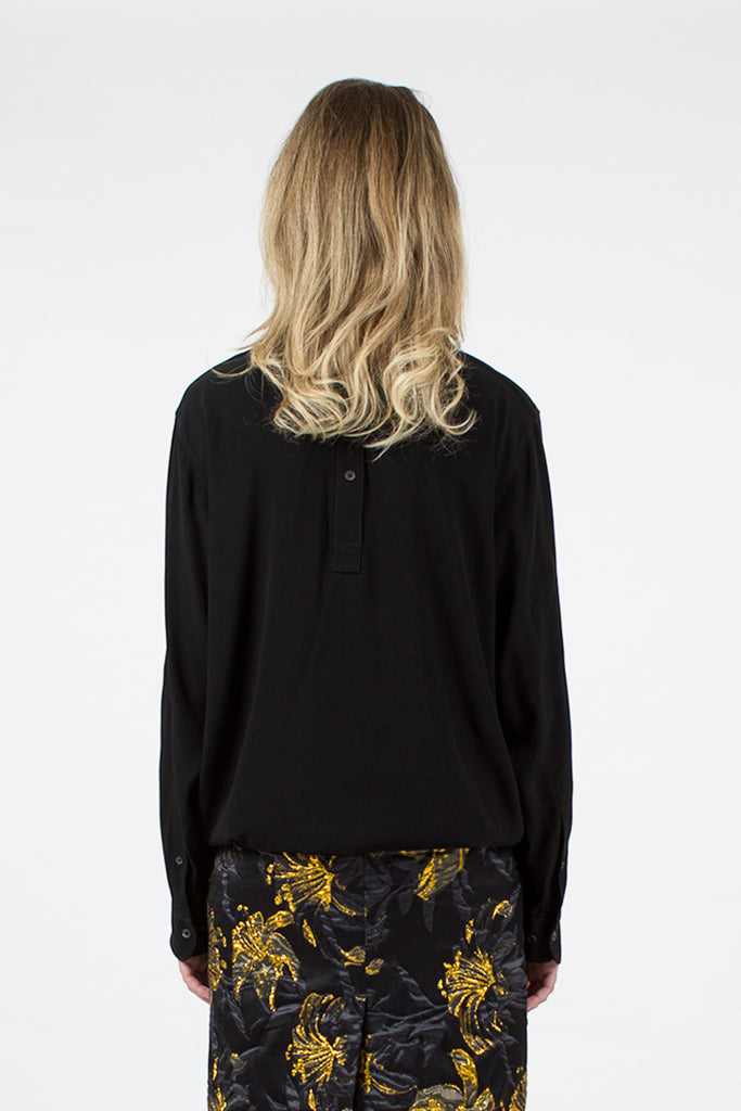 Black Consi Embellished Shirt