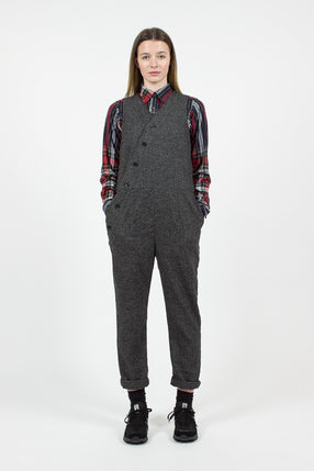 Grey Wool Homespun Copeland Suit