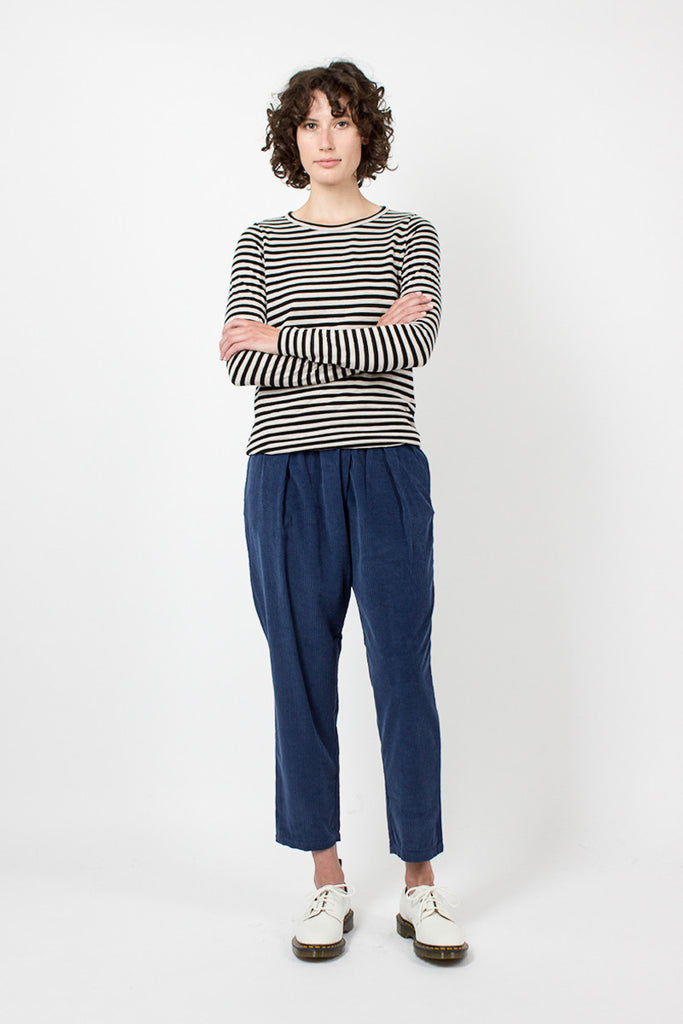 Blue Cord Trousers