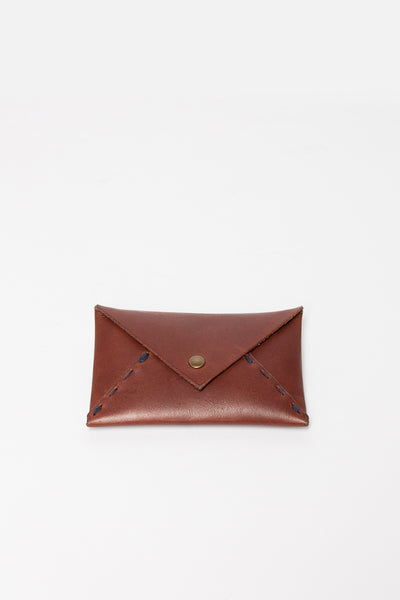 Brown Courier du Coeur Cardholder