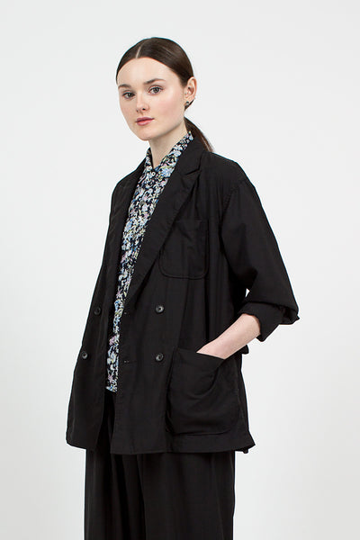 Black Tropical Wool Cordura DL Jacket