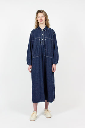 One Wash Denim Dress