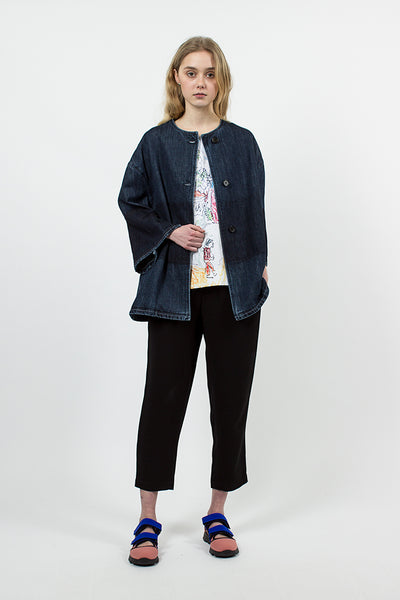 Indigo Denim Jacket Deep Blue