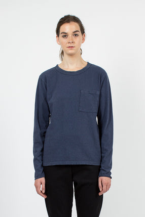 Navy Crash Top