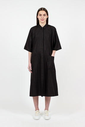 Dive Long Shirt Dress