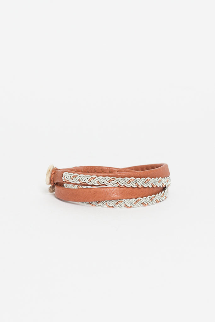 Home Tanned Loose Wrap Bracelet