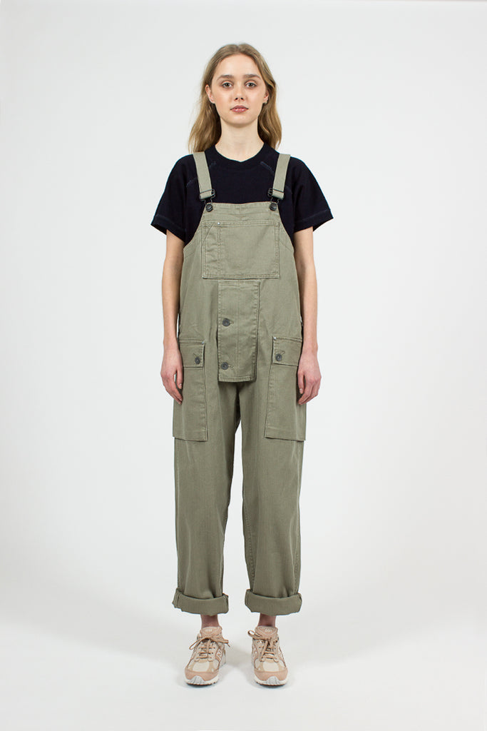 Nam Green Herringbone Naval Dungaree