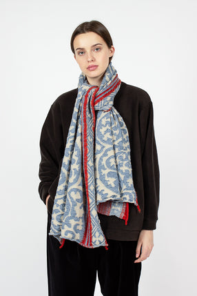 Arabesque Knit Scarf
