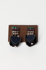 Ultramarine Clip-on Earrings