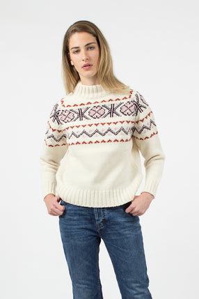 Malin Fairisle Knit Jumper