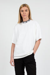 Optic White Eternal Rib Face Tee