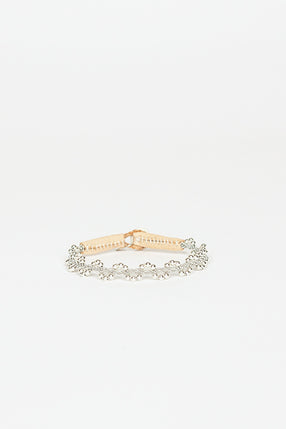 Fiora Natural Pink Beaded Bracelet