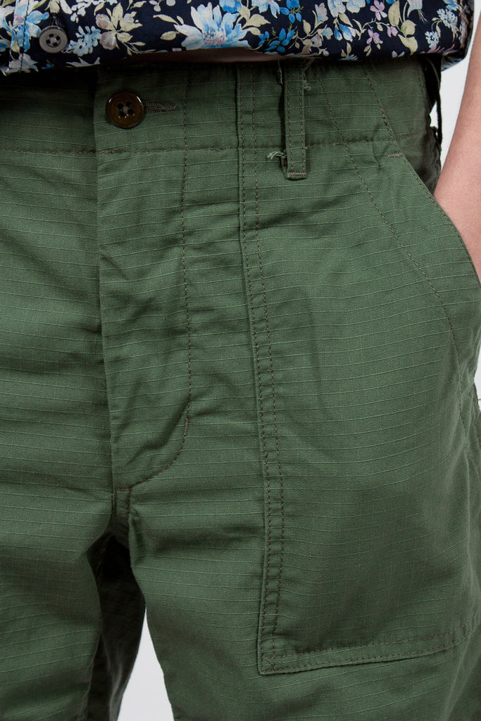 Fatigue Short Light Olive Ripstop